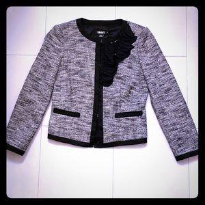 DKNY black&white blazer